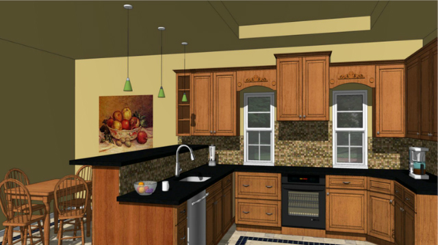 Gentil Designing Kitchens With SketchUp