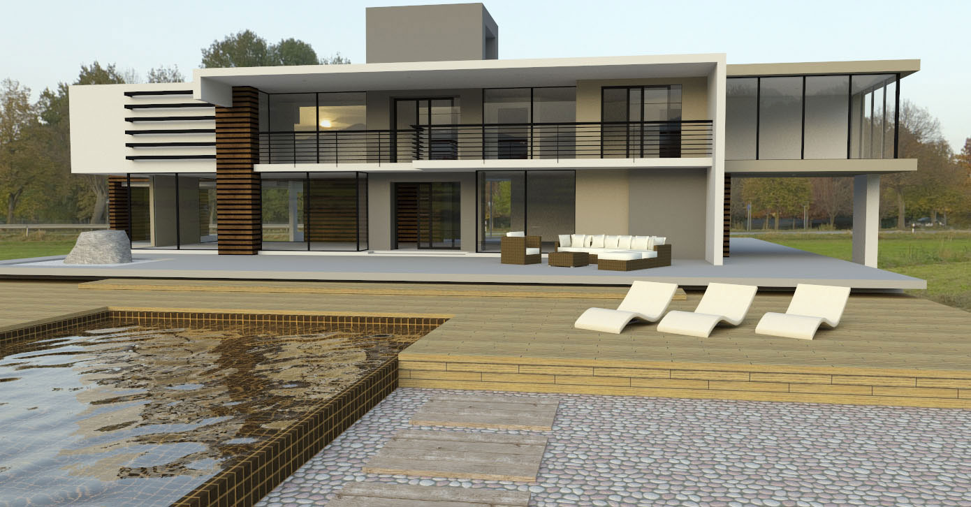 Generate a high quality rendering with your sketchup model for Rendering gratis
