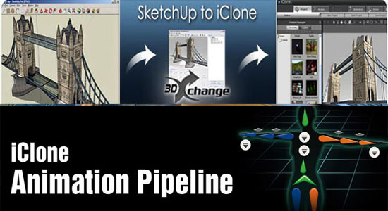 An exclusive demonstration on The SketchUp to iClone Pipeline will be provided in the sixth annual Machinima Expo