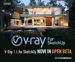 Chaos Group's V-Ray 1.6 for SketchUp Now in Open Beta