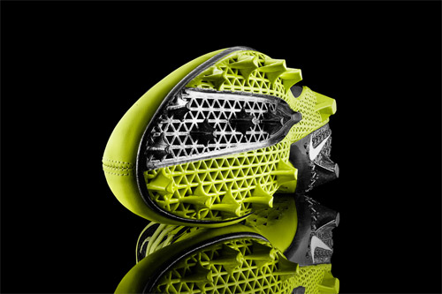 Nike introduced 3D Printed footwear for NFL