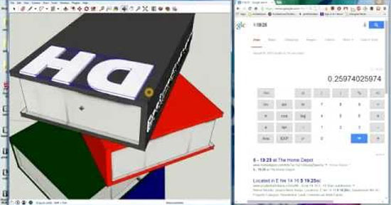 How to generate 3d text in sketchup and place, scale and manoeuvre it