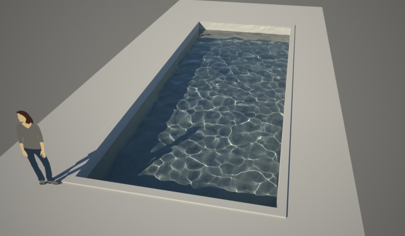 Modeling a pool in SketchUp