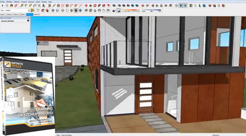 Improve your sketchup skills through some online sketchup trainings 2014