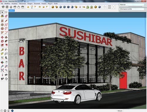 Making of exterior scene with vray sketchup hdri sketchup 4 u for Setting render vray sketchup exterior