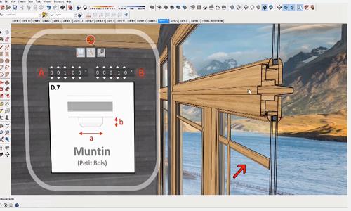 Click-Window 3D - An intuitive, flexible and productive windows design tool