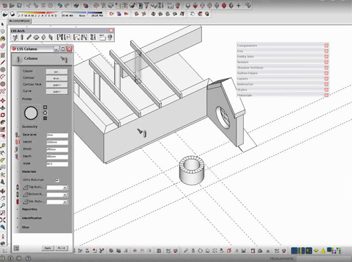 LSS Arch Lite for Sketchup
