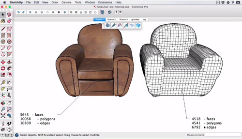 MeshWrapper Tool – A useful sketchup extension for mesh modeling