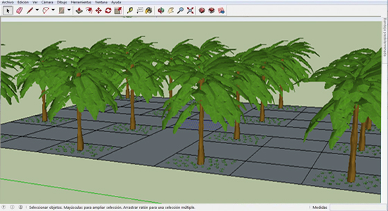 Park Generator for sketchup