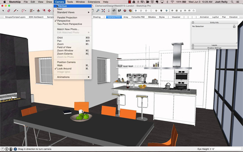 3d modeling tutorial 3d animation tutorial tutorial sketchup 7 Kitchen design software google sketchup