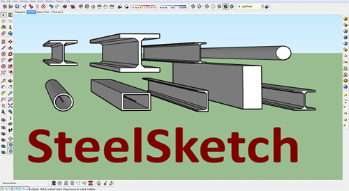 SteelSketch for Sketchup