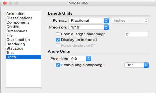 How to Set Up Templates in SketchUp