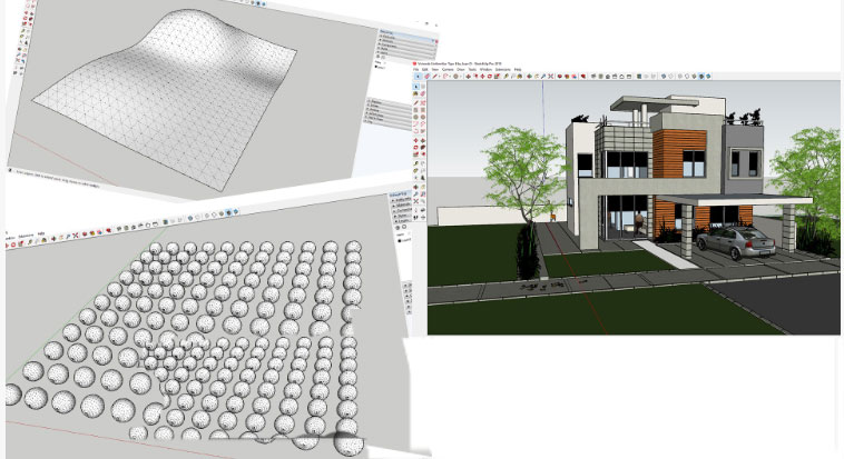 Quantities and Cost estimates with Quantifier Pro in SketchUp