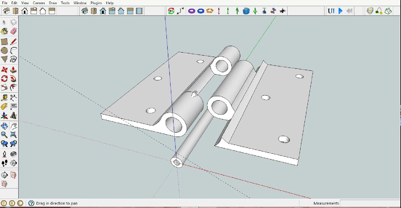 Methods to design moving parts in SketchUp for 3D Printing