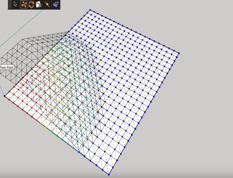 Vertex Tools Extension in SketchUp