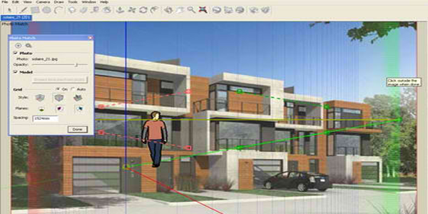 The Combination of Sketchup and BIM