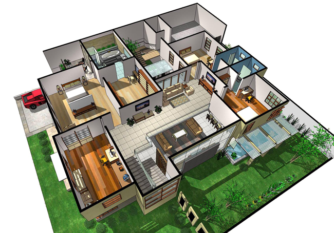 sketchup ur space: Confession of an Admirer